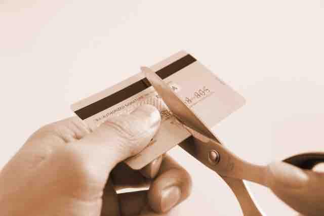 カード廃棄