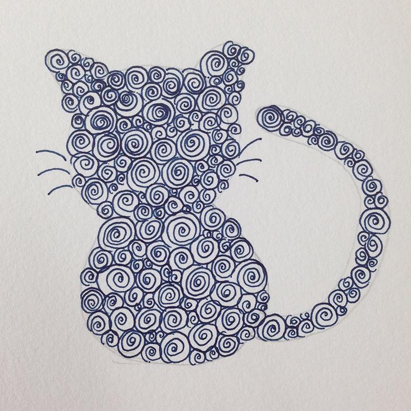 ネコ・ゼンタングル