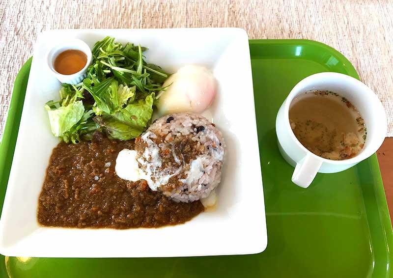 Cafe NANEAキーマカレー