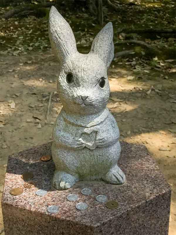 出雲大社とウサギ