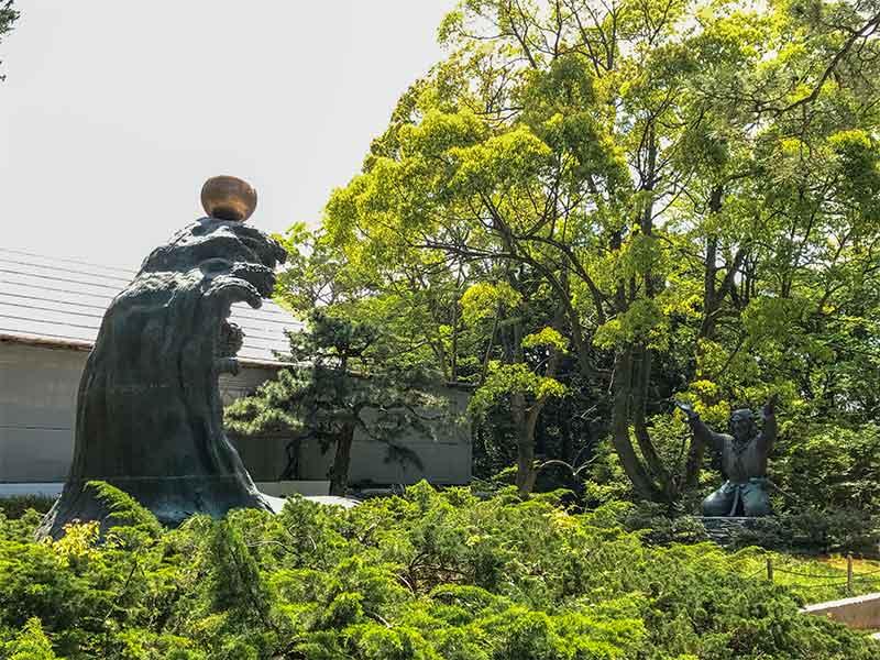 出雲大社・ムスビの御神像