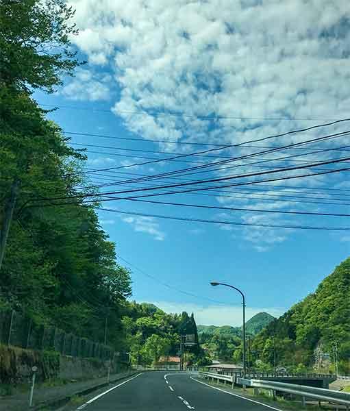 出雲大社から須佐神社へ