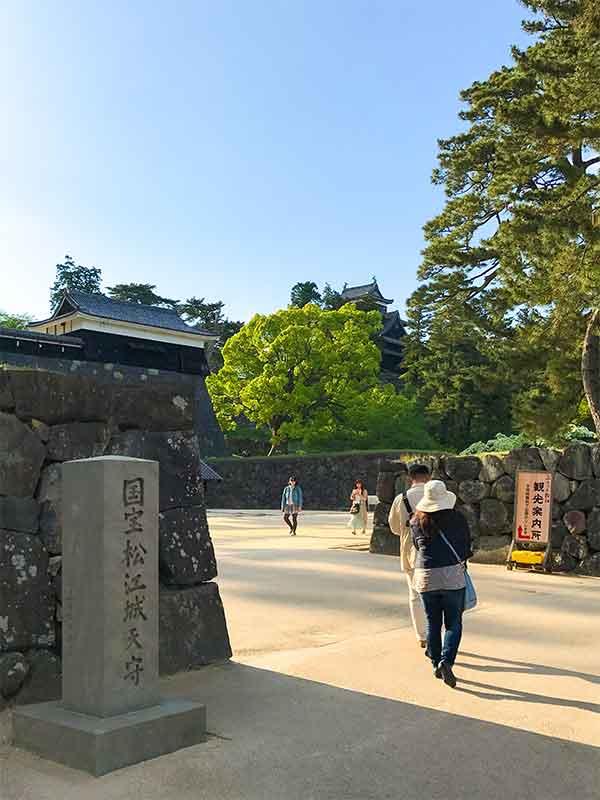 国宝松江城