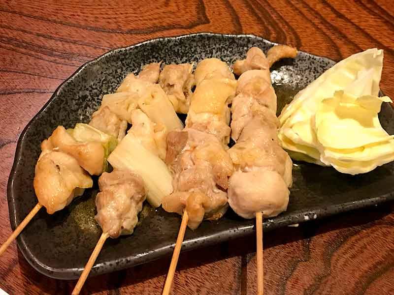 鳥取県産大山地鶏の焼き鳥
