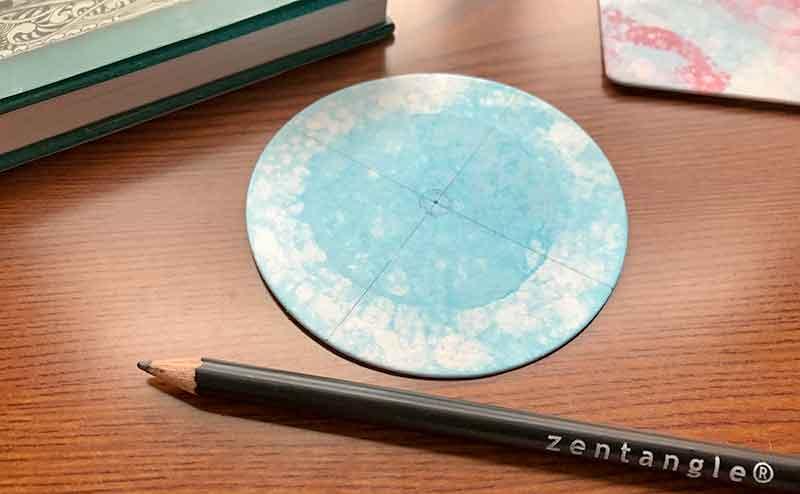 バブルアートとzentangle(ゼンタングル)ゼンダラ
