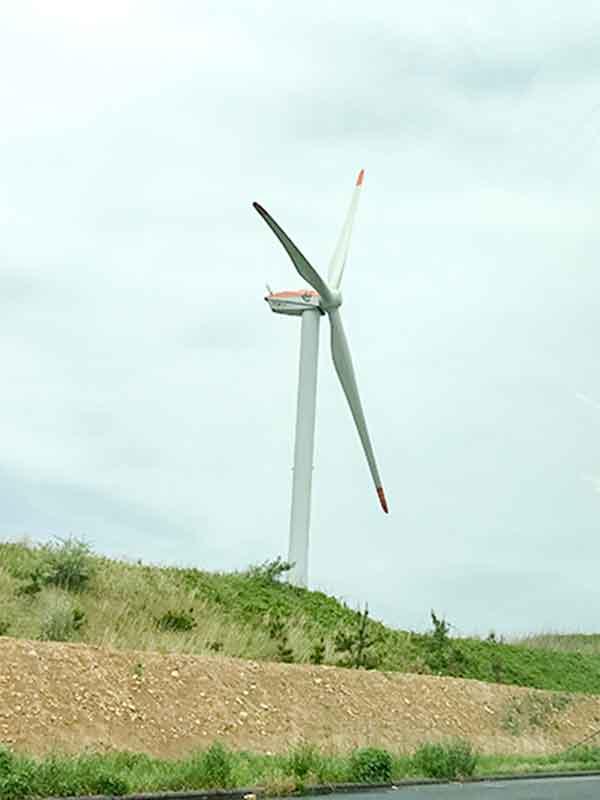 北条砂丘風力発電所