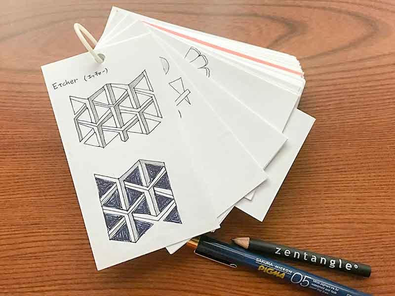 ゼンタングル(zentangle)パターン帳