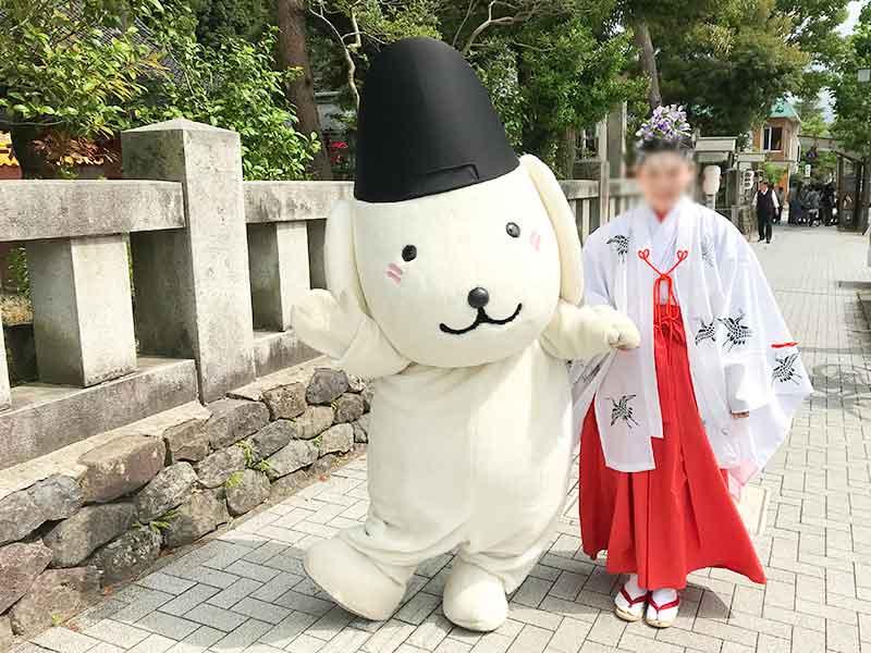 石浦神社のゆるキャラ・きまちゃん