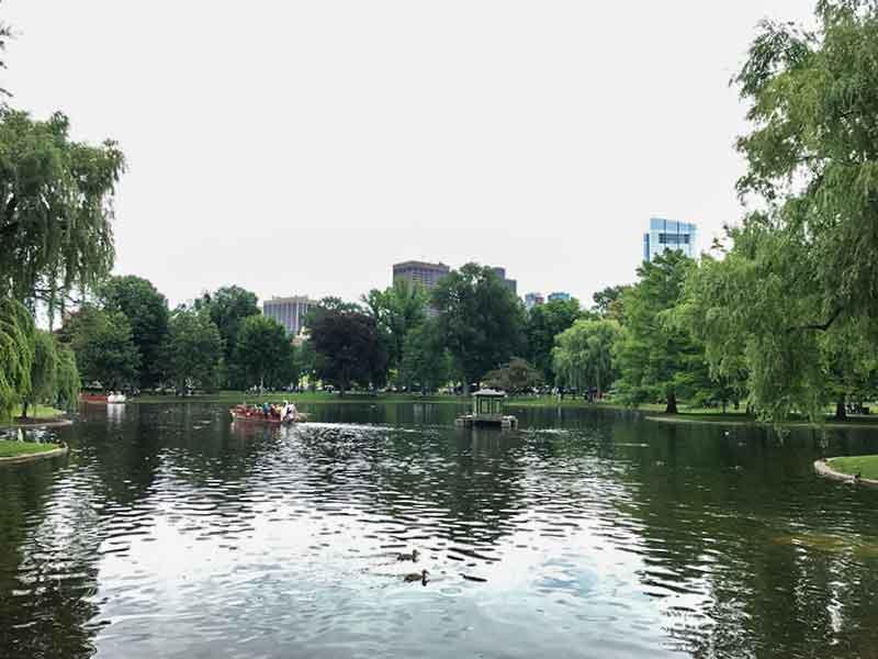 ボストン・パブリック・ガーデン(Boston Public Garden)