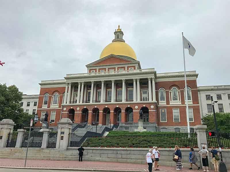 ボストン・フリーダムトレイル・マサチューセッツ州議事堂