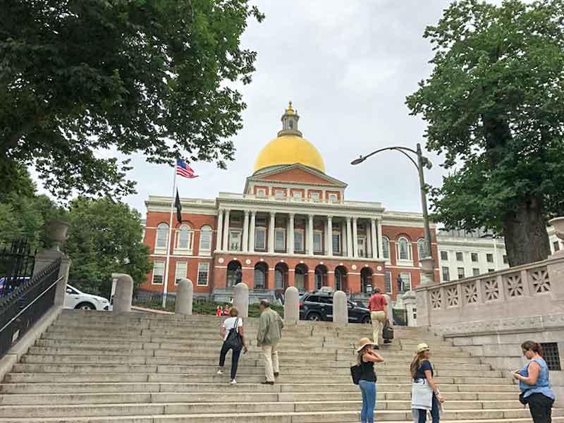フリーダムトレイル・マサチューセッツ州議事堂