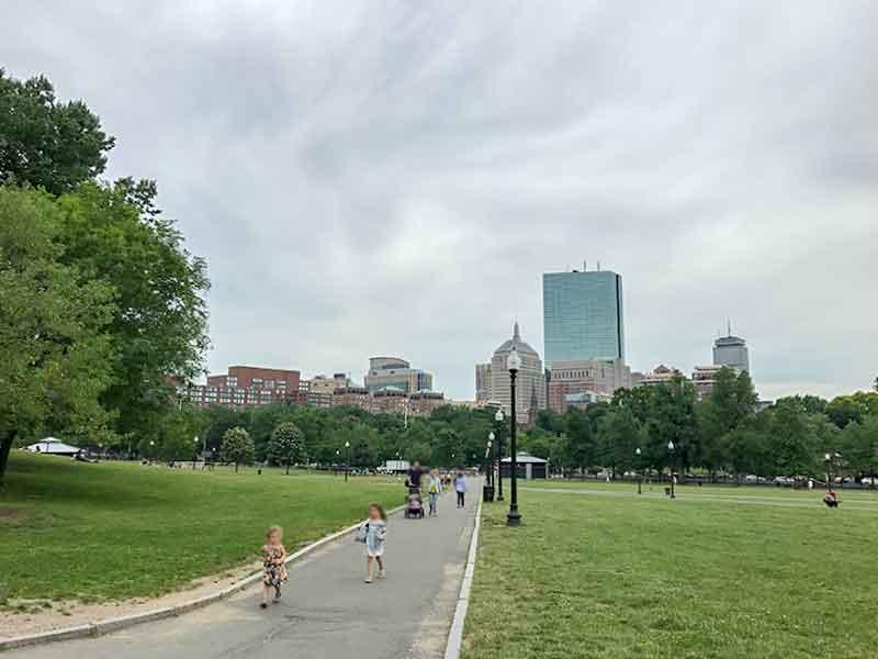 ボストン・コモン(Boston Cimmon)