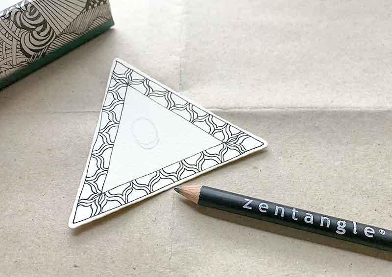 ゼンタングル(zentangle)inktobertangles