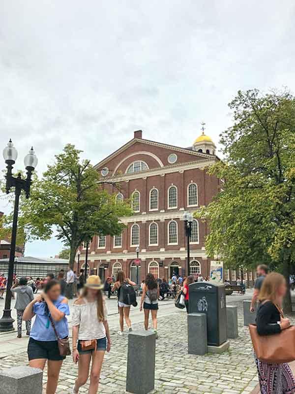 ボストン・フリーダムトレイル・クインシーマーケット