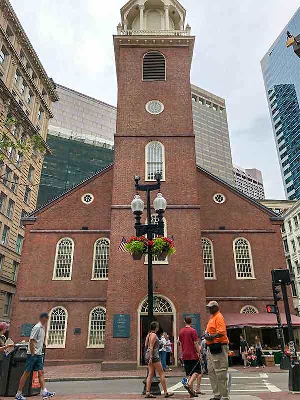 ボストン・フリーダムトレイル・オールドサウス集会場 Old South Meeting House