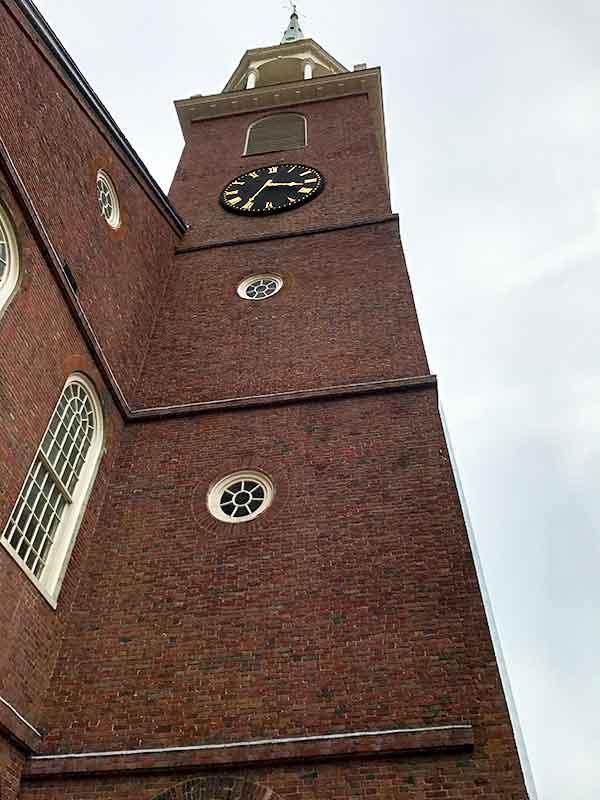 ボストン・フリーダムトレイル・オールドサウス集会所