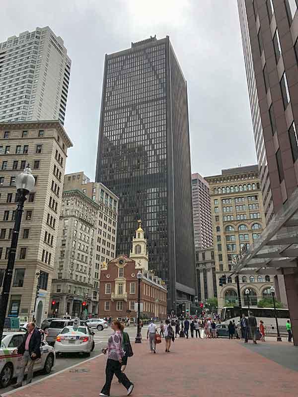 ボストン・フリーダムトレイル・旧マサチューセッツ州会議事堂