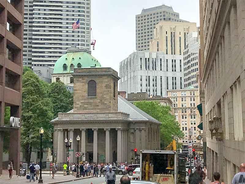 ボストン・フリーダムトレイル・キングス・チャペル King's Chapel