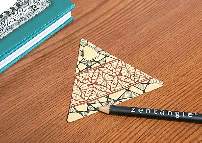 Inktobertangles(インクトーバー・タングレス)のzentangle(ゼンタングル)