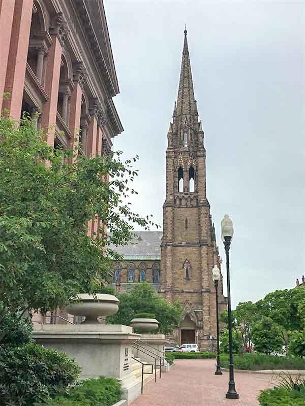 アメリカ・ボストン・バックベイ・Church of the Covenant