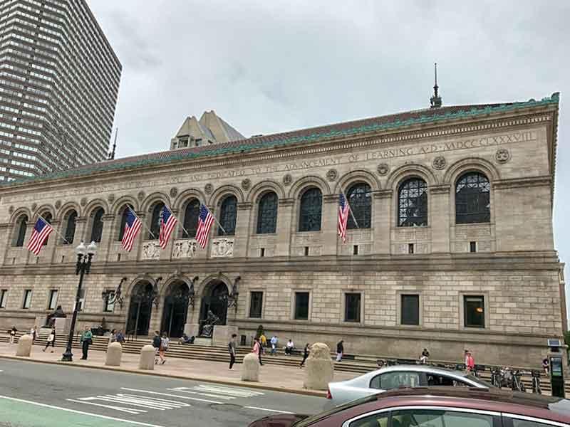 アメリカ・ボストン公共図書館Boston Public Library