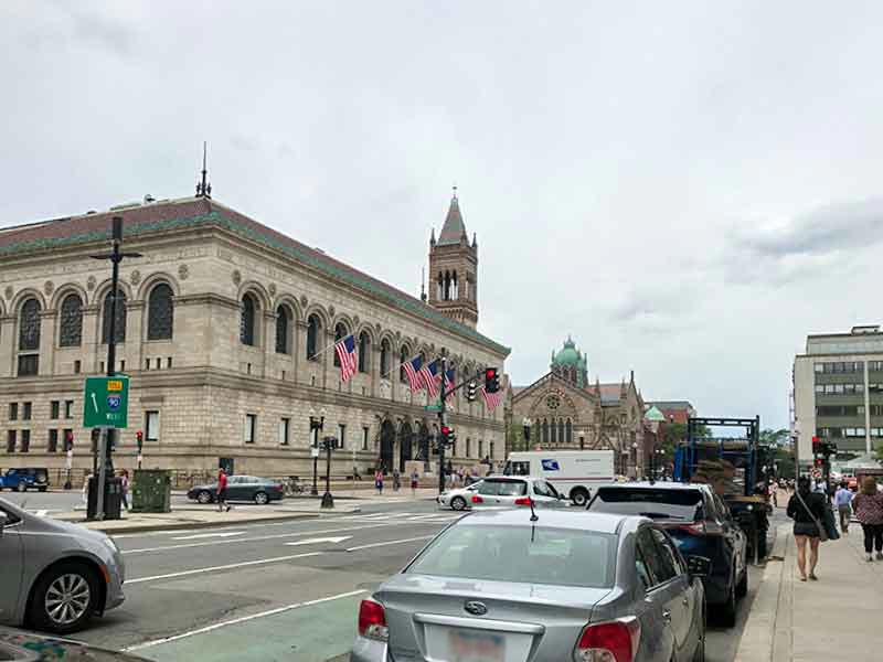 アメリカ・ボストン公共図書館
