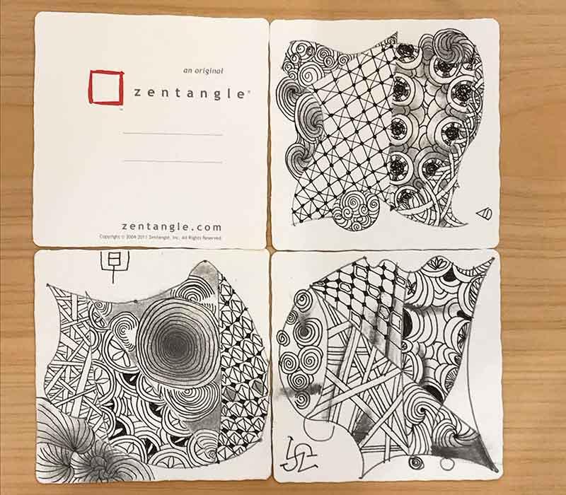 ゼンタングル(zentangle)ワークショップ