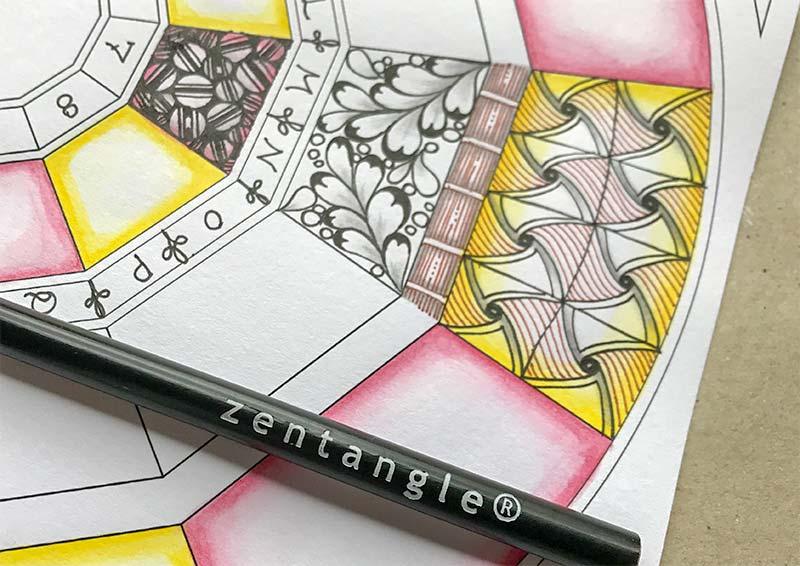 ゼンタングル(zentangle)プロジェクトパック04