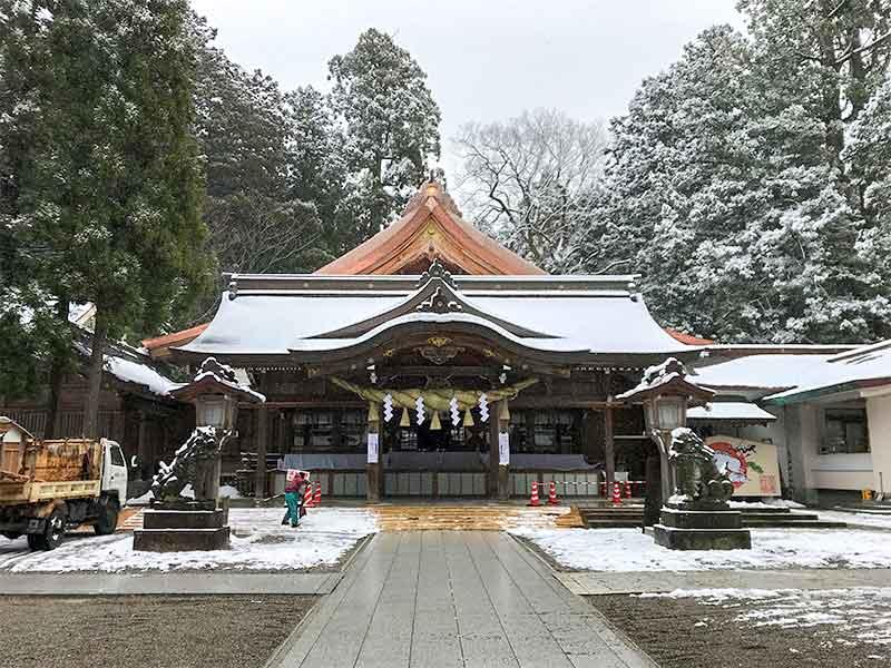 白山比咩神社・白山さんで初詣・ご祈祷