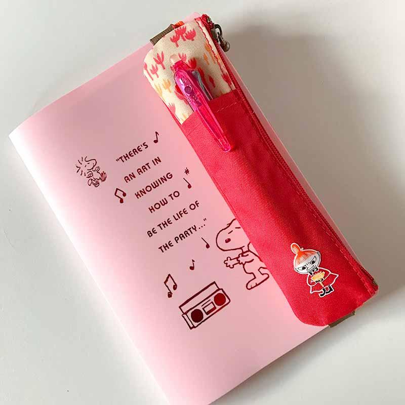 ムーミンのミィの手帳用ペンケース・ベルト付