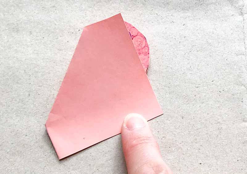 ゼンタングル(zentangle)ハートのとびだすカード(pop up card)