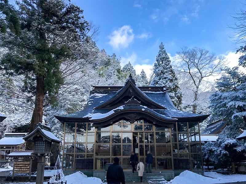 金劔宮・金運アップ日本3大神社