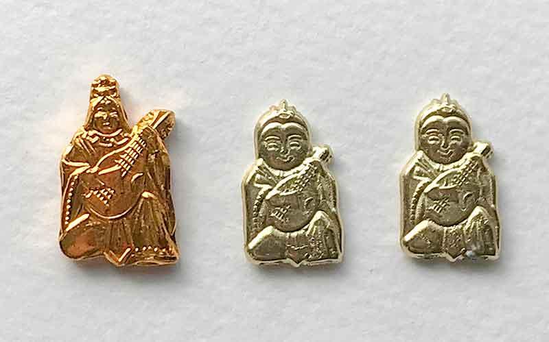 金劔宮の七福神お守り付きおみくじの弁天様