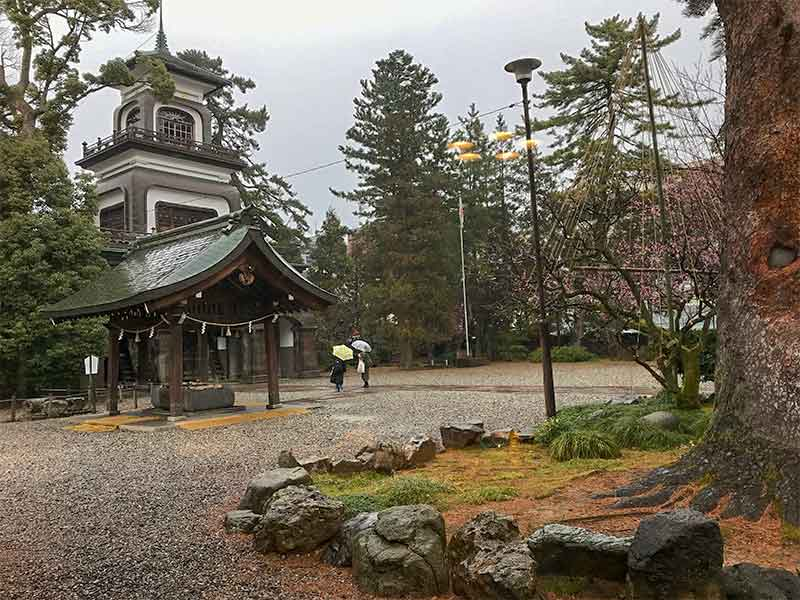 金沢市・尾山神社のお守り