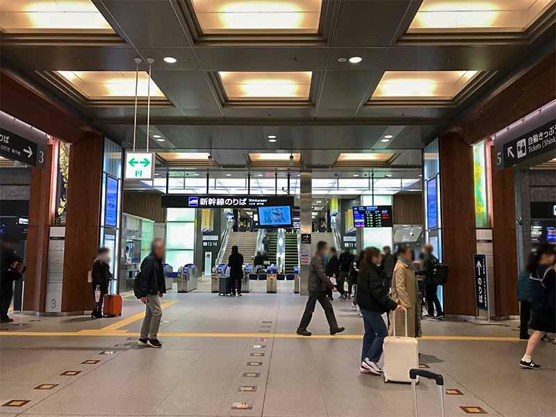 金沢駅・新幹線乗り場
