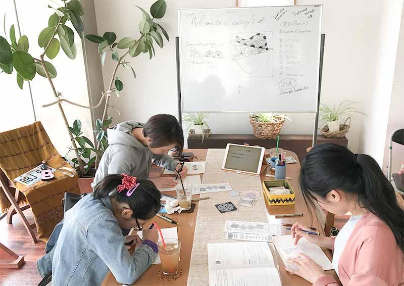 ゼンタングル・ワークショップ(zentangle workshop)