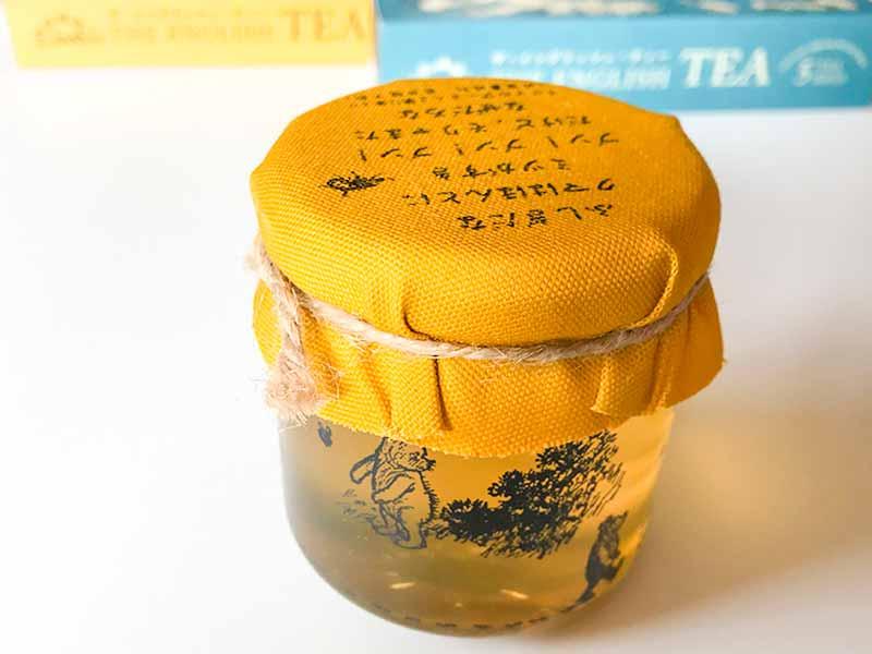 クマのプーさん展・紅茶とハチミツ