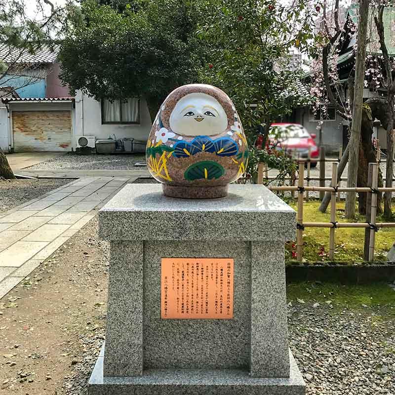 金沢五社・安江八幡宮・加賀八幡起き上り