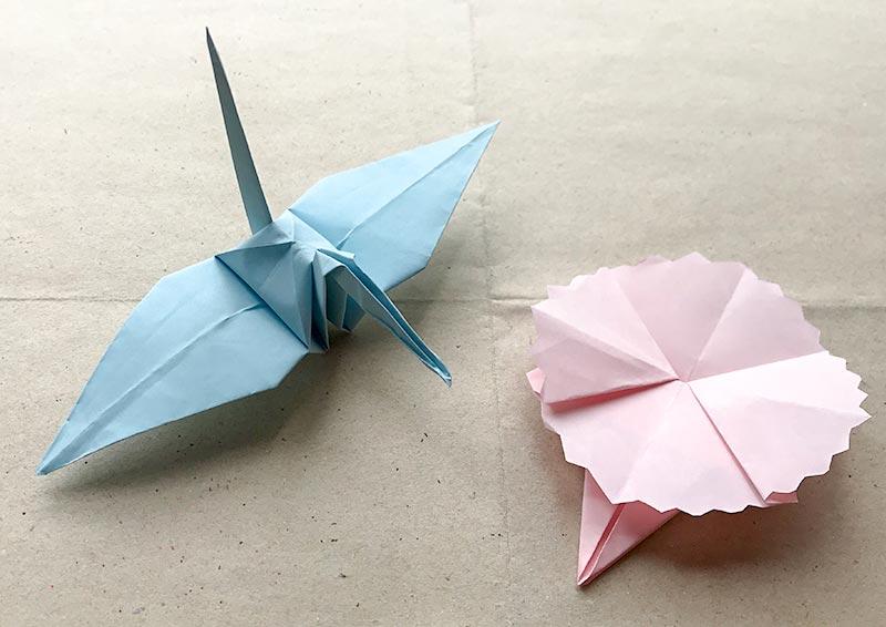折り紙とゼンタングル(zentangle)