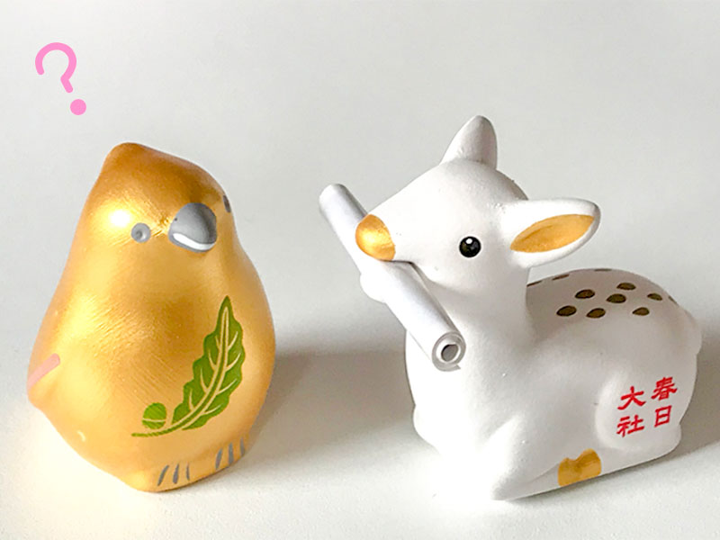 春日大社・白鹿みくじ