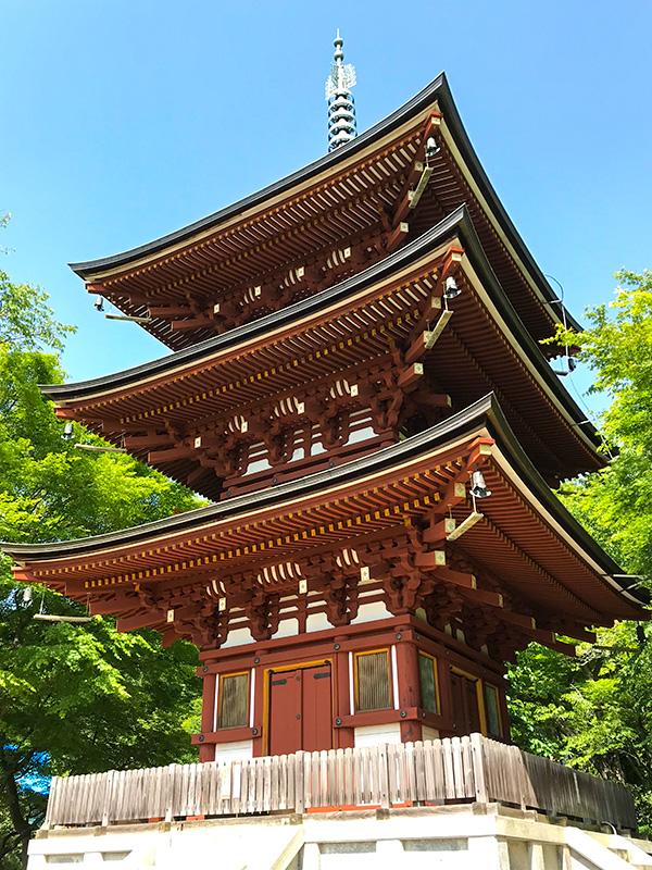 奈良・岡寺(龍蓋寺)三重塔