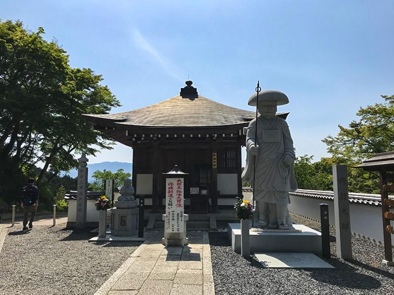 奈良・岡寺(龍蓋寺)大師堂