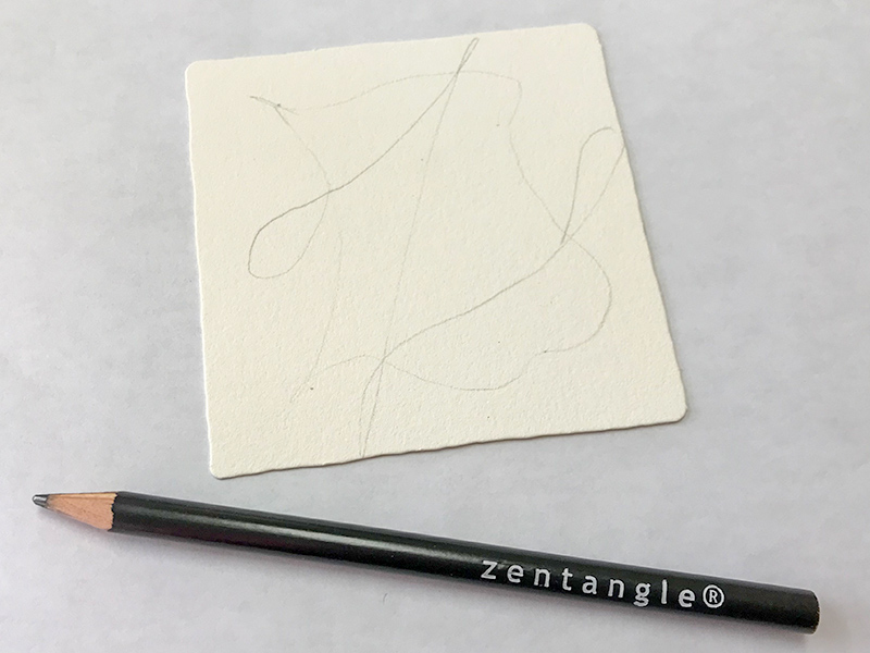 ゼンタングル(zentangle)パターンアート