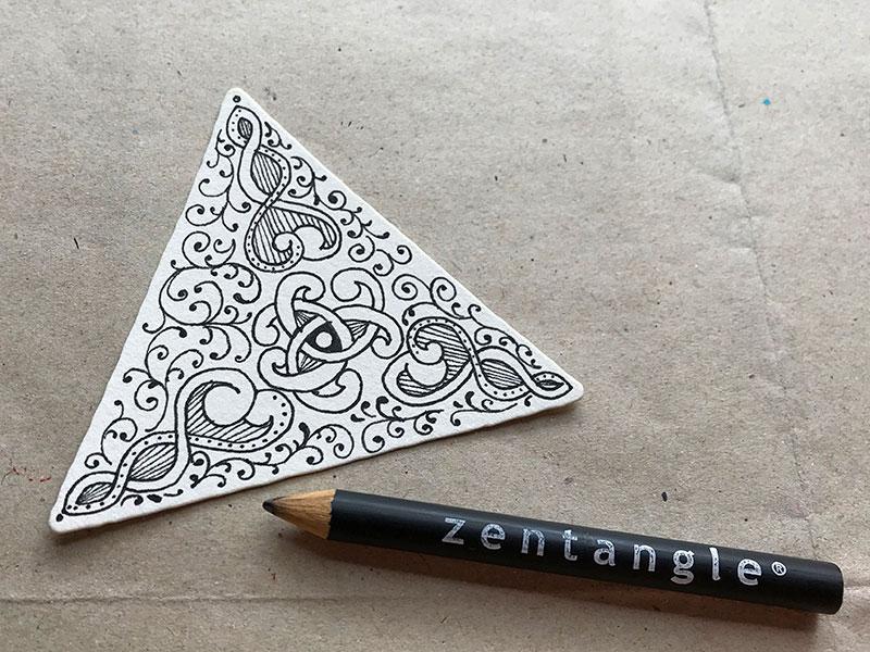 ゼンタングル(zentangle)