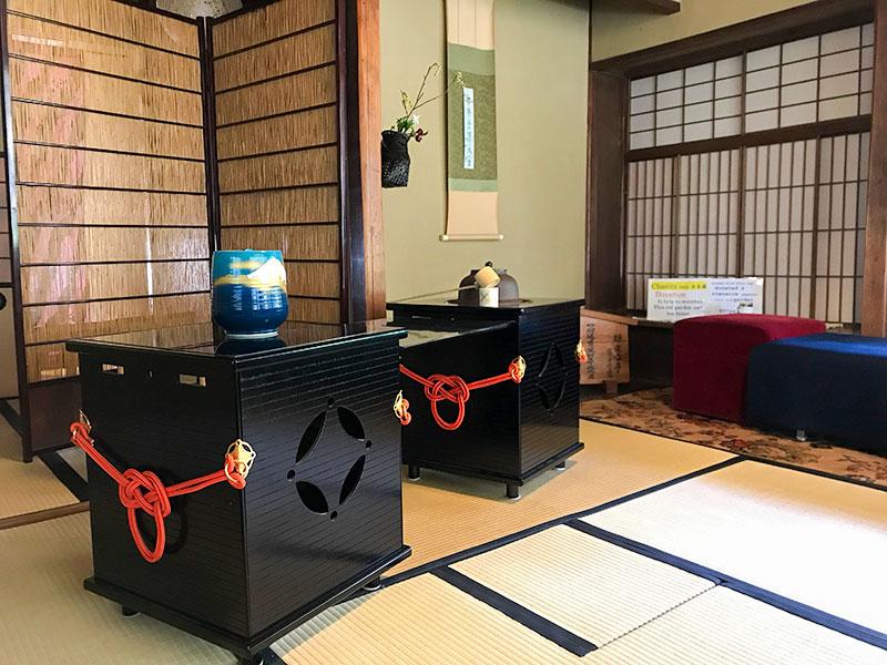 西田家庭園玉泉園・茶室