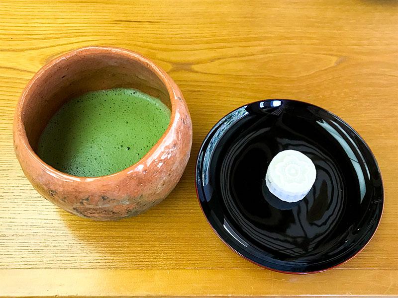 金沢・中村記念美術館・お抹茶セット