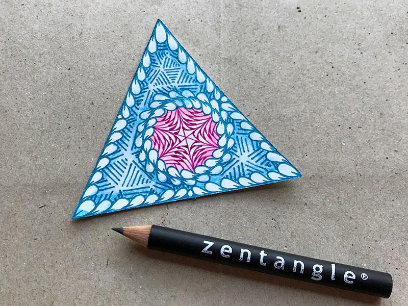 ゼンタングル(zentangle)とバブルアートとモビール
