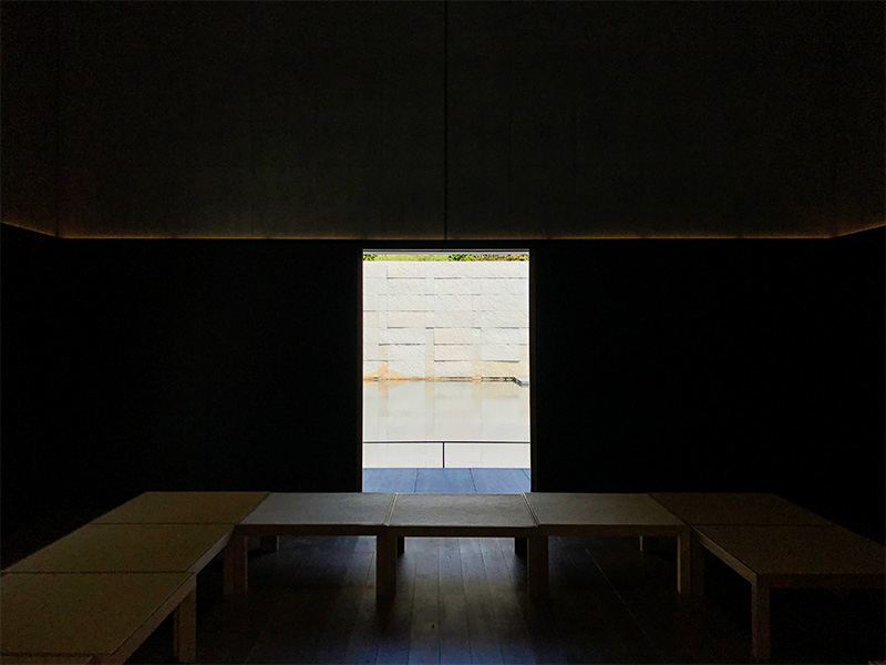 金沢・鈴木大拙館(思索空間)