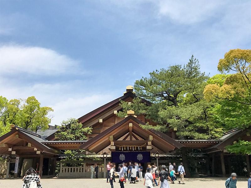 熱田神宮・神楽殿