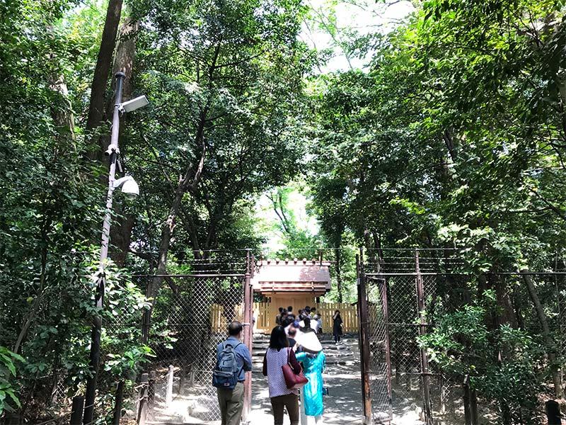 熱田神宮・こころの小径・一之御前神社